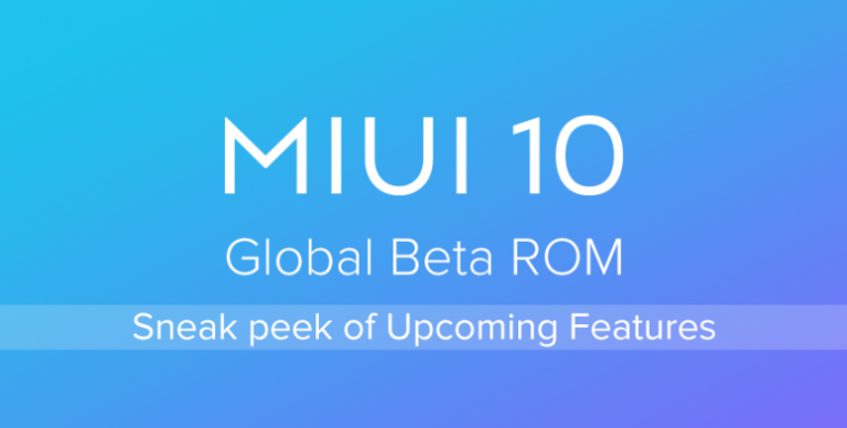 MIUI 10 9.8.12 Beta update for Redmi Note 5 Pro – Download Link