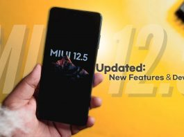 miui 12.5 device list updated